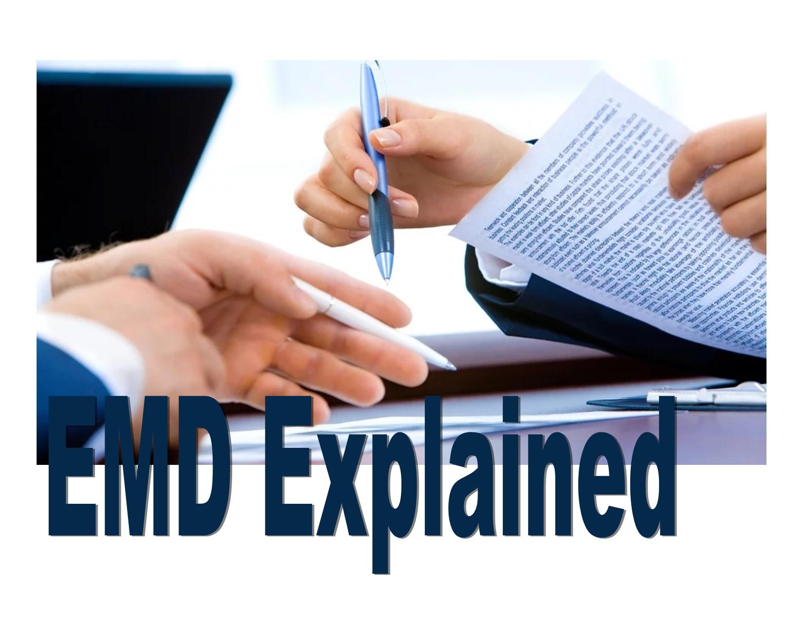 EMD Explained